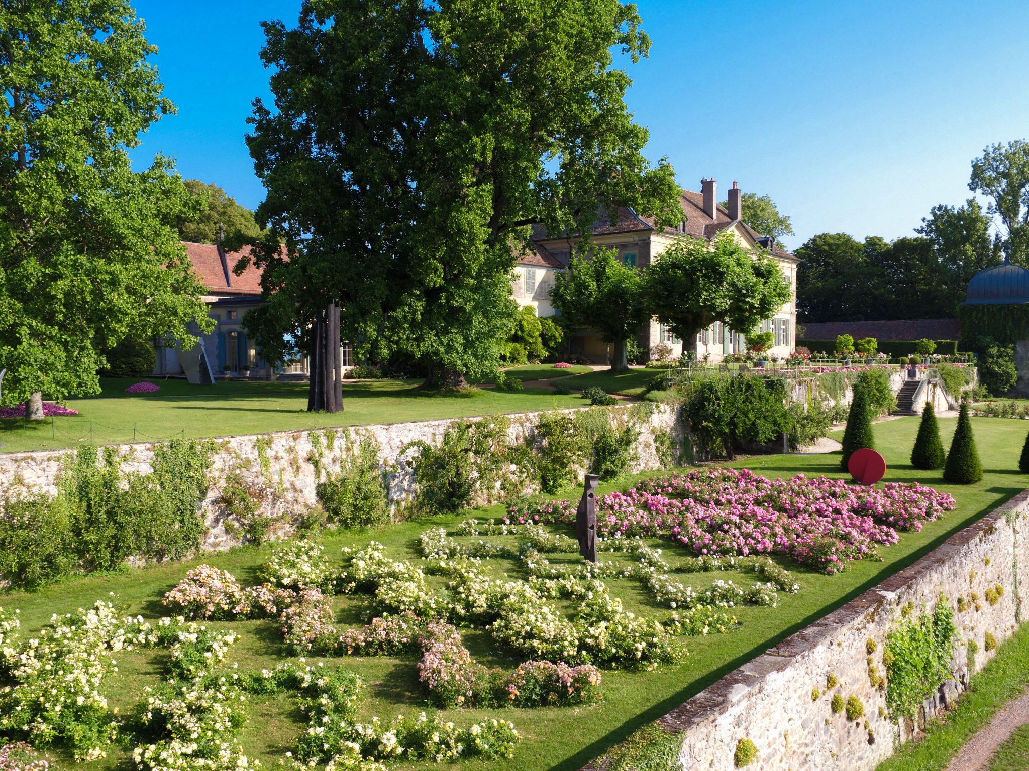 Vue aérienne du jardin de Dorianne.