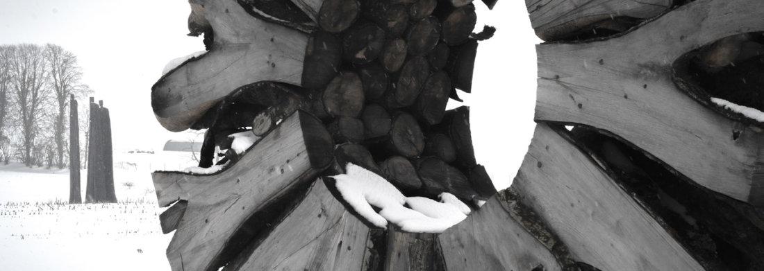Sculpture d'Urs Twellmann vu de près