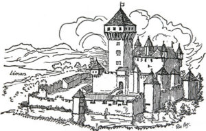 châteaudevullierens dessin chateaufort