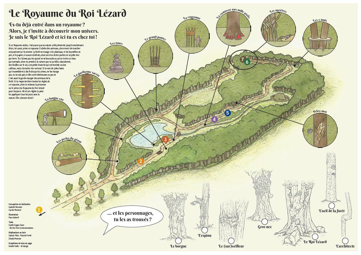 Carte du Royaume du Roi Lézard