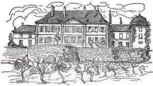 Dessin du Château actuel.
