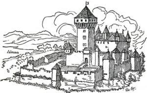 Le premier Château fort.