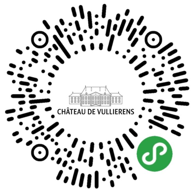 Le QR code Wechat du Château de Vullierens