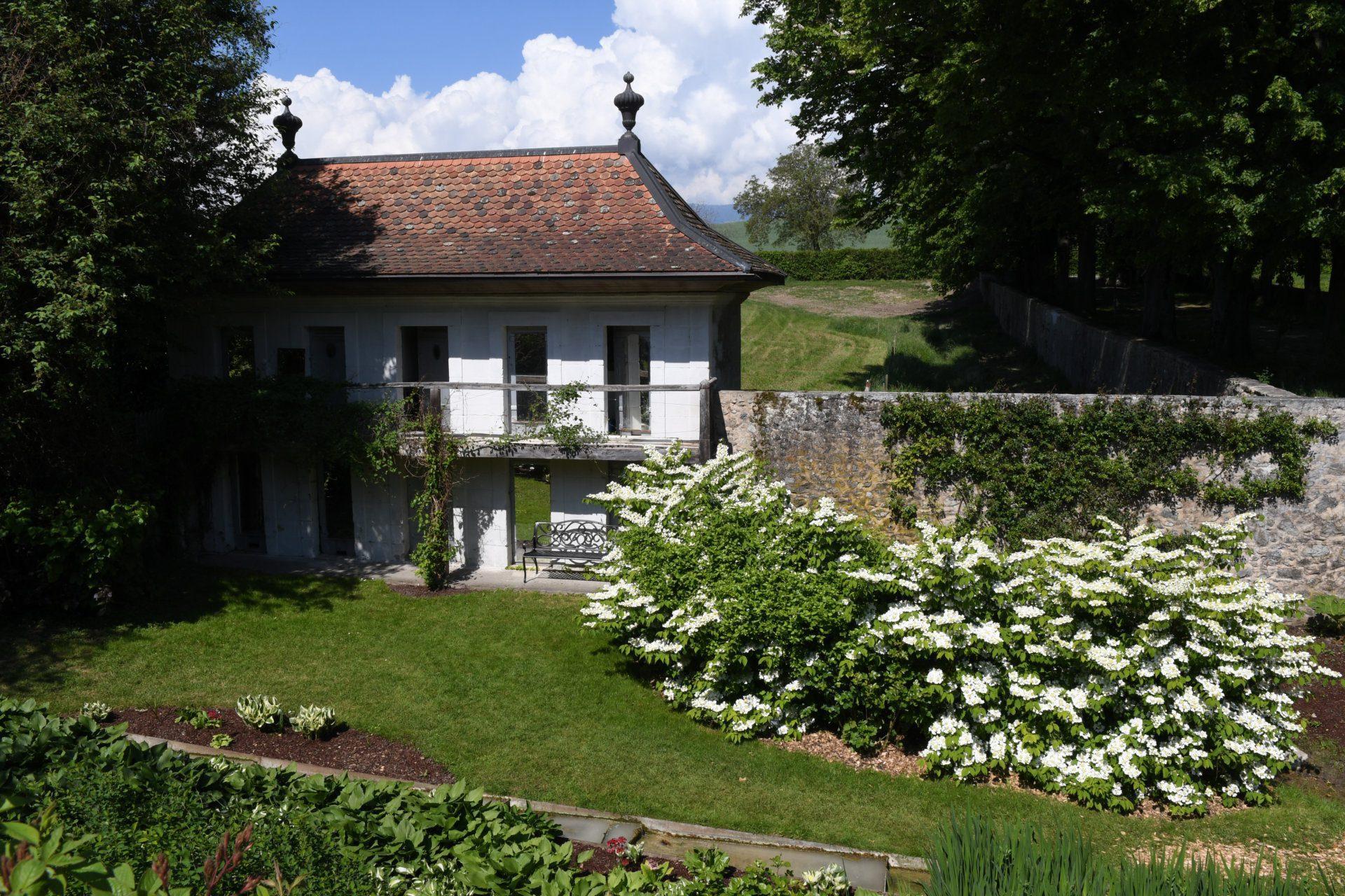 Maisonnette du jardin secret.