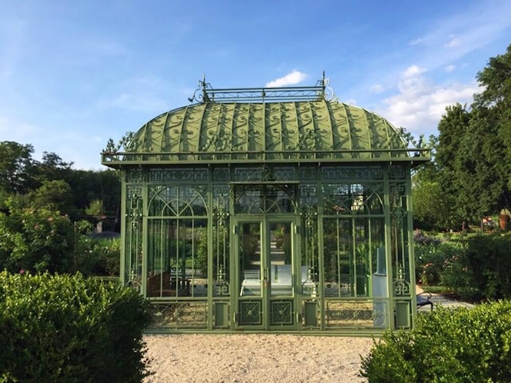 L'orangeraie du Jardin de Doreen.