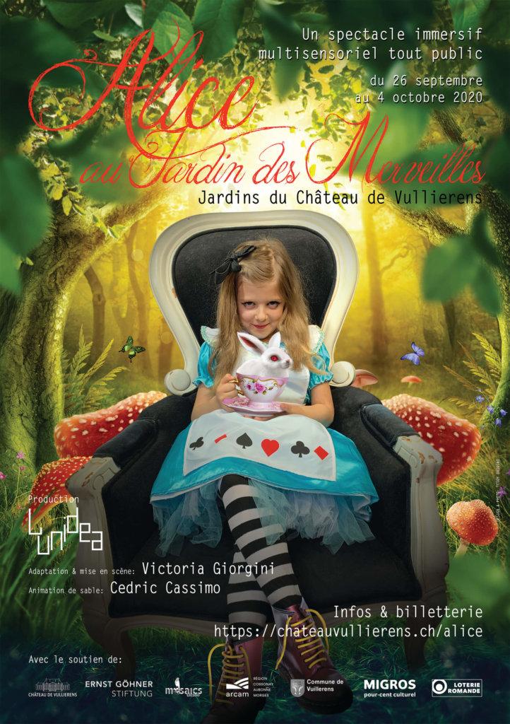 chateau de vullierens alice au jardin des merveilles 1 722x1024 - Alice au Jardin des Merveilles du 26 septembre au 4 octobre