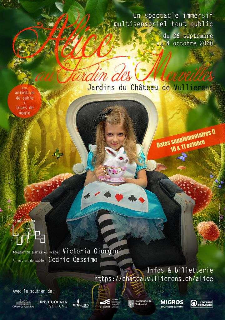 chateau de vullierens alice au jardin des merveilles 720x1024 - Alice au Jardin des Merveilles du 26 septembre au 11 octobre